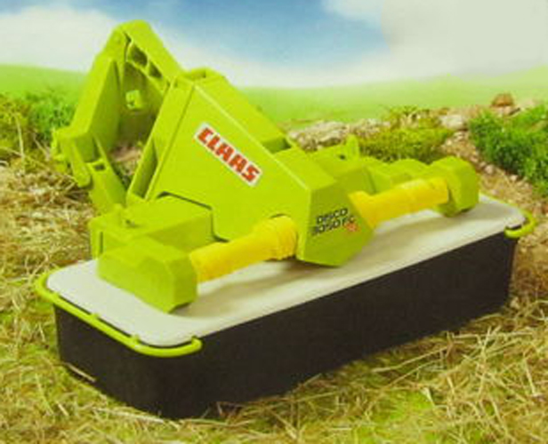 Bruder #02324 CLAAS Front Disc Mower 3050 FC Plus - New Factory Sealed