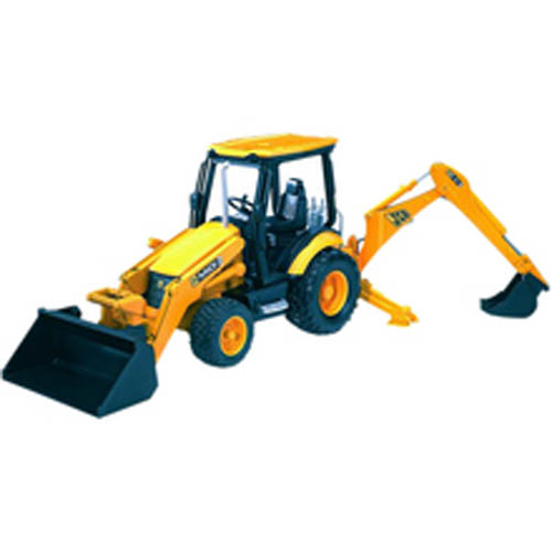 Bruder #02427 JCB MIDI CX Backhoe Loader! -New-Factory Sealed #2427