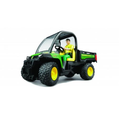 Bruder #09812 John Deere Gator XUV 855D with Driver -New-Factory Sealed! #9812