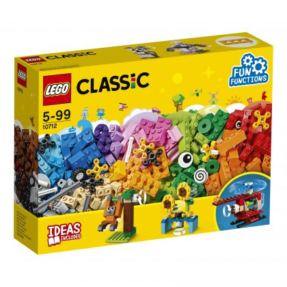 LEGO CLASSIC #10712 Bricks and Gears - New Factory Sealed