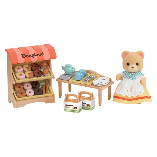 CALICO CRITTERS #CC1725 Doughnut Store - New Factory Sealed