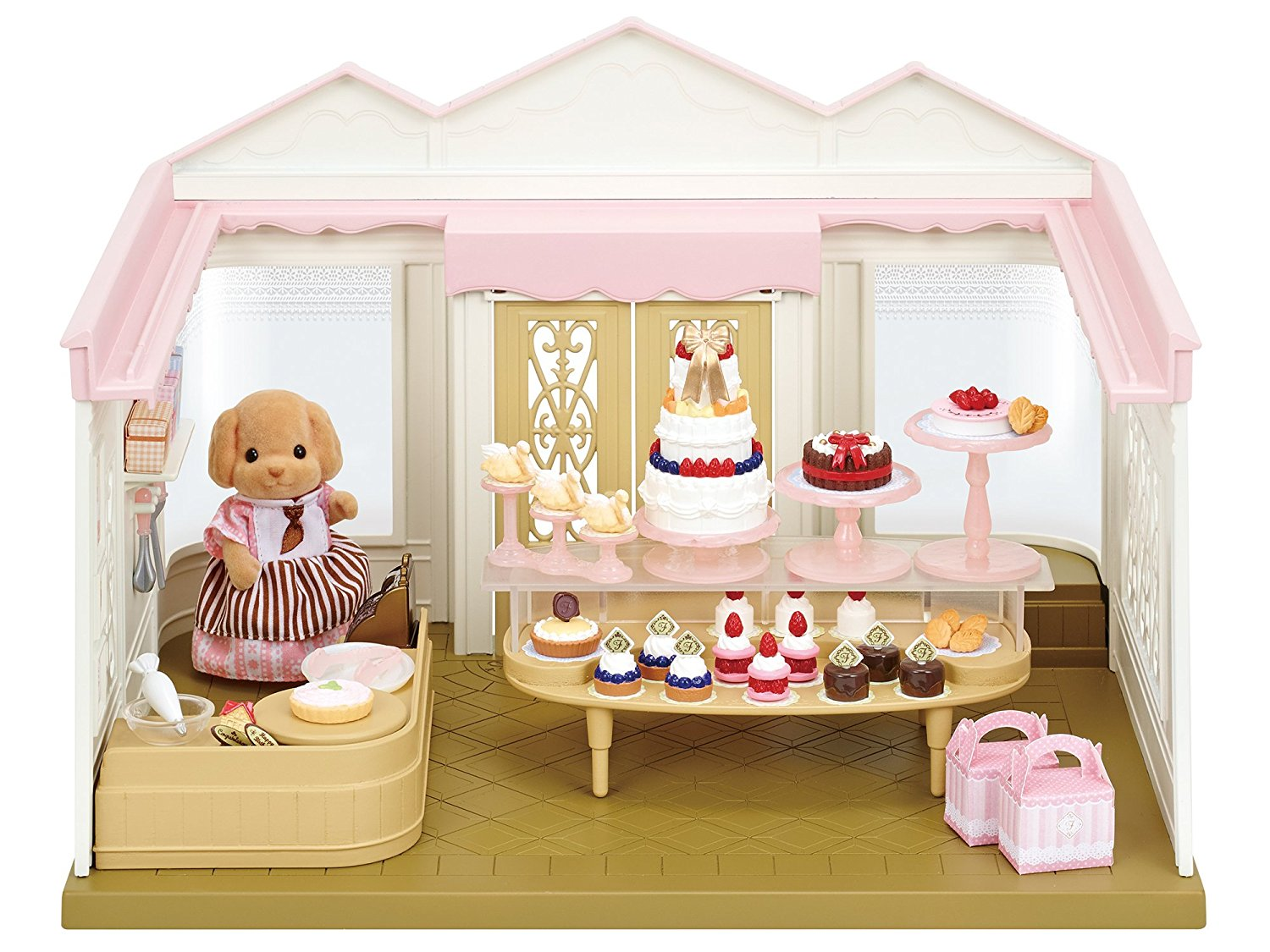 CALICO CRITTERS #CC1739 Village Cake Shop - New Factory Sealed