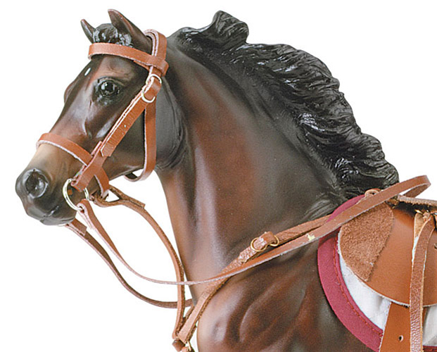 Breyer Traditional Series #2458 Hunter/Jumper Bridle! (Horse Sold Separately) -New-Factory Sealed