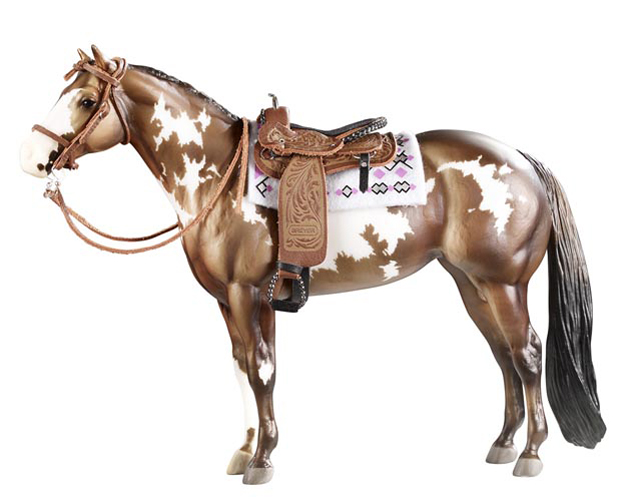 Breyer Traditional #2494 Cimarron Western Pleasure Saddle (Horse Sold Separately) -New-Factory Sealed
