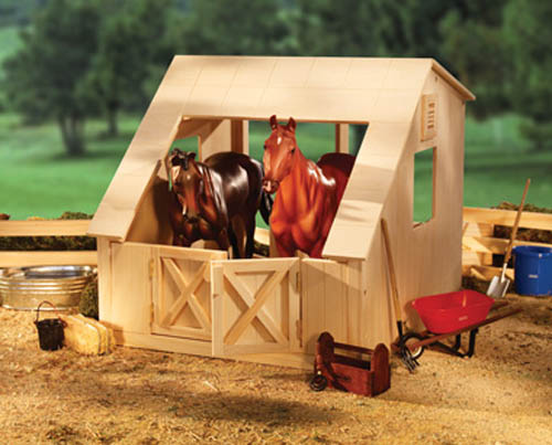 Breyer Traditional Series #306 Wood Stable! (Horses Sold Separately) -New-Factory Sealed