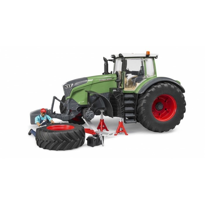 Bruder #04041 Fendt X 1000 Tractor with repair Accessories - New Factory Sealed #4041