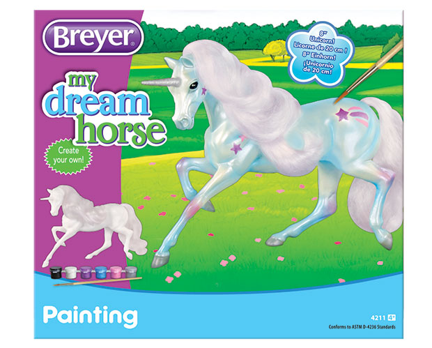 Breyer Horse #4211 Paint Your Own Unicorn Kit - New Factory Sealed