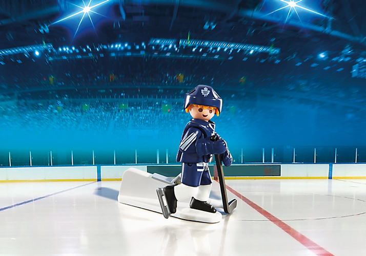 Playmobil #5084 NHL Hockey® Toronto Maple Leafs Player - New Factory Sealed