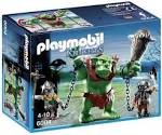 Playmobil #6004 Giant Troll with Dwarf Fighters - New Factory Sealed