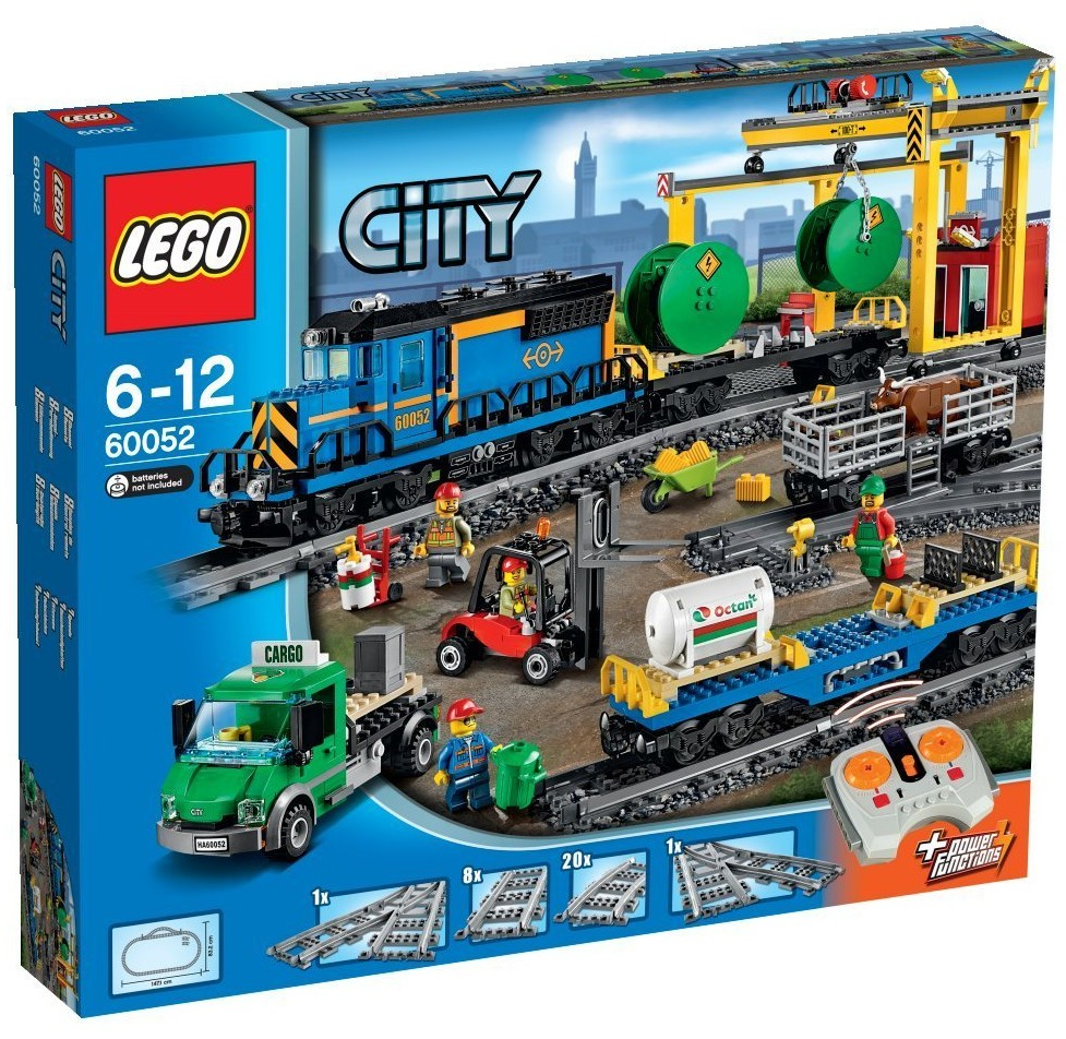 LEGO CITY #60052 Cargo Train - New - Factory Sealed