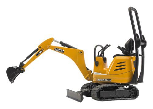 Bruder #62003 JCB Micro Excavator 8010 CTS -New-Factory Sealed!