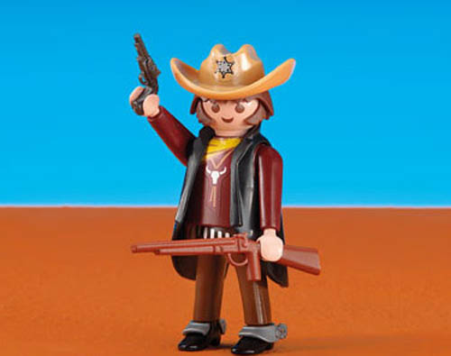 Playmobil Add On #6277 Western Sheriff! -New-Factory Sealed