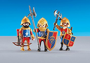Playmobil Add On #6379 Royal Lion Knights - New Factory Sealed