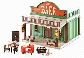 Playmobil Add On #6478 Western Bank - New Factory Sealed