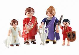 Playmobil Add On #6493 Roman Family - New Factory Sealed