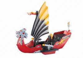 Playmobil Add On #6497 Dragon Battle Ship - New Factory Sealed