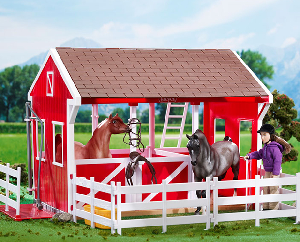 Breyer Horse Classics Collection #698 Spring Creek Stable - New Factory Sealed