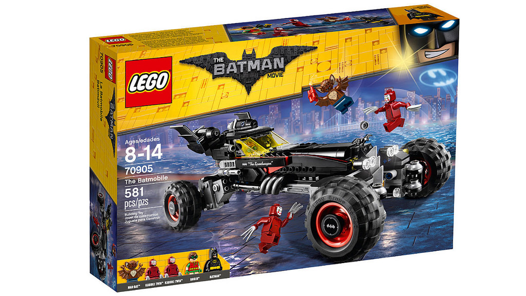 THE LEGO BATMAN MOVIE #70905 THE BATMOBILE