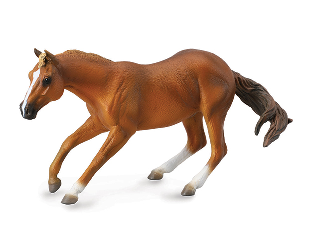 BREYER CORRAL PALS SORREL QUARTER STALLION #88585