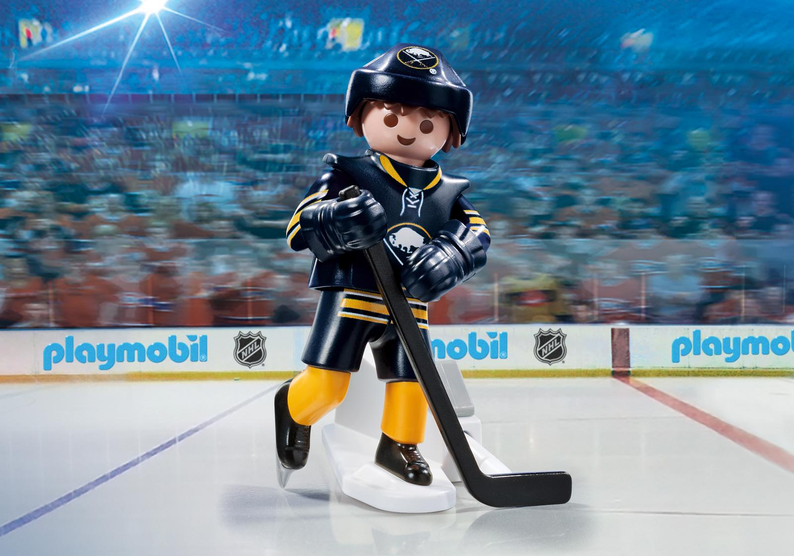 Playmobil #9180 NHL Buffalo Sabres® Player - New Factory Sealed