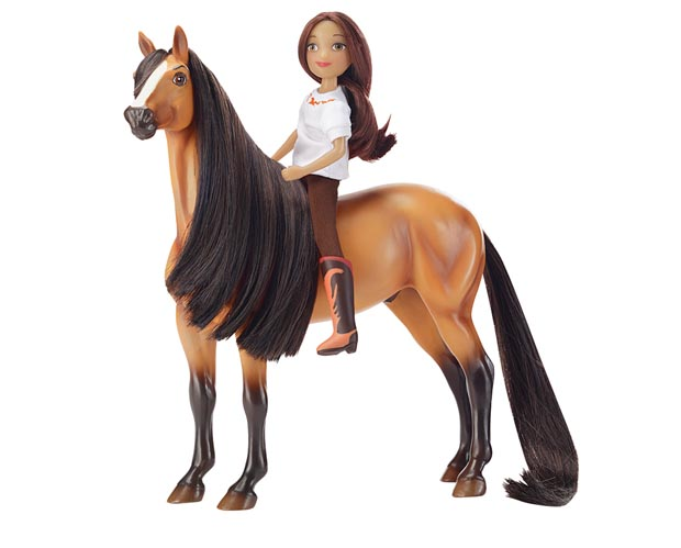 BREYER SPIRIT COLLECTION #9203 Spirit and Lucky Gift Set - Classic Scale Horse - New Factory Sealed