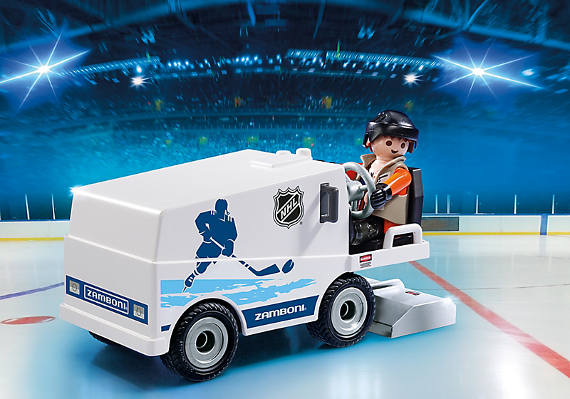 Playmobil #9213 NHL Zamboni Machine - New Factory Sealed