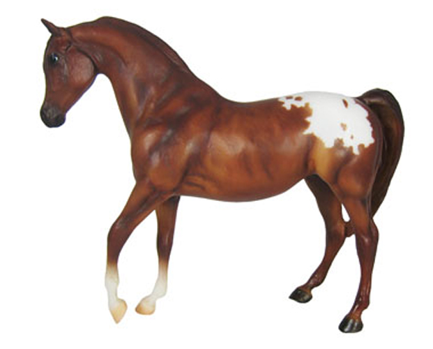 Breyer Horse Classics Collection #937 Chestnut Appaloosa! Hand Painted 1:12 Scale -New-Factory Sealed