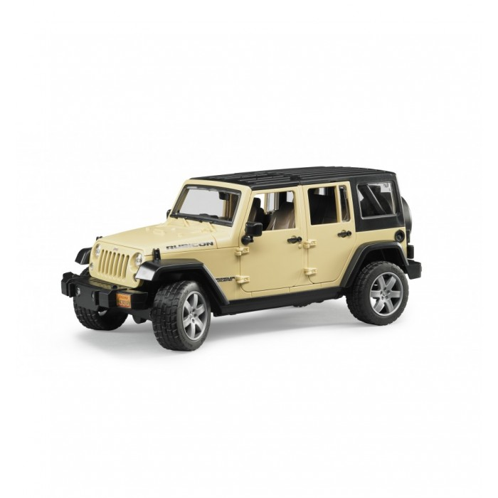 Bruder #02525 Jeep Wrangler Unlimited Rubicon! New Factory Sealed! 1:16 Scale #2525