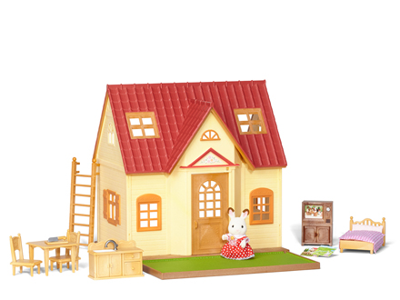 CALICO CRITTERS #CC2055 Cozy Cottage Starter Home - New Factory Sealed - Sylvanian Families - Pretend Play