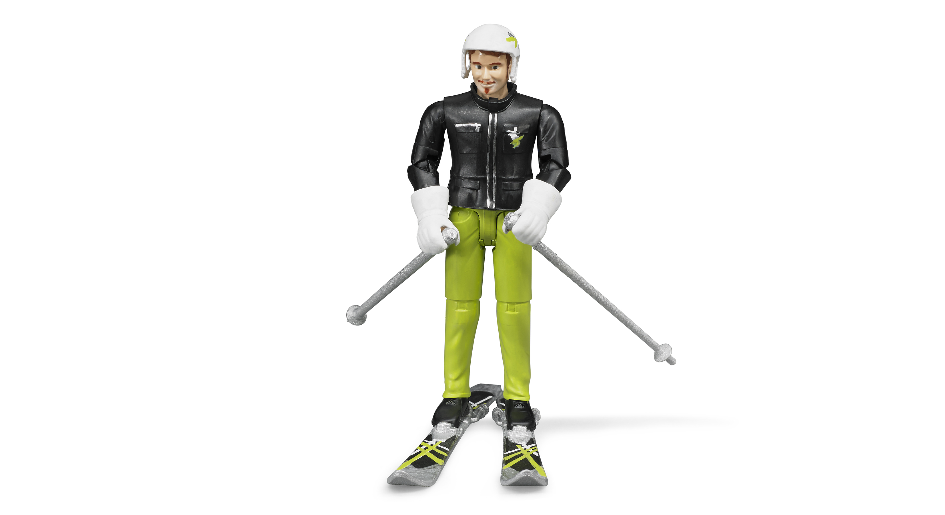 Bruder #60040 Skier with Accessories - New Factory Sealed