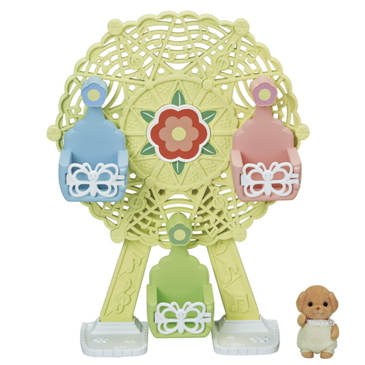 CALICO CRITTERS #CC1799 Baby Ferris Wheel - New Factory Sealed