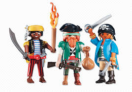 Playmobil Add On #6434 Three Pirates! New Factory Sealed!