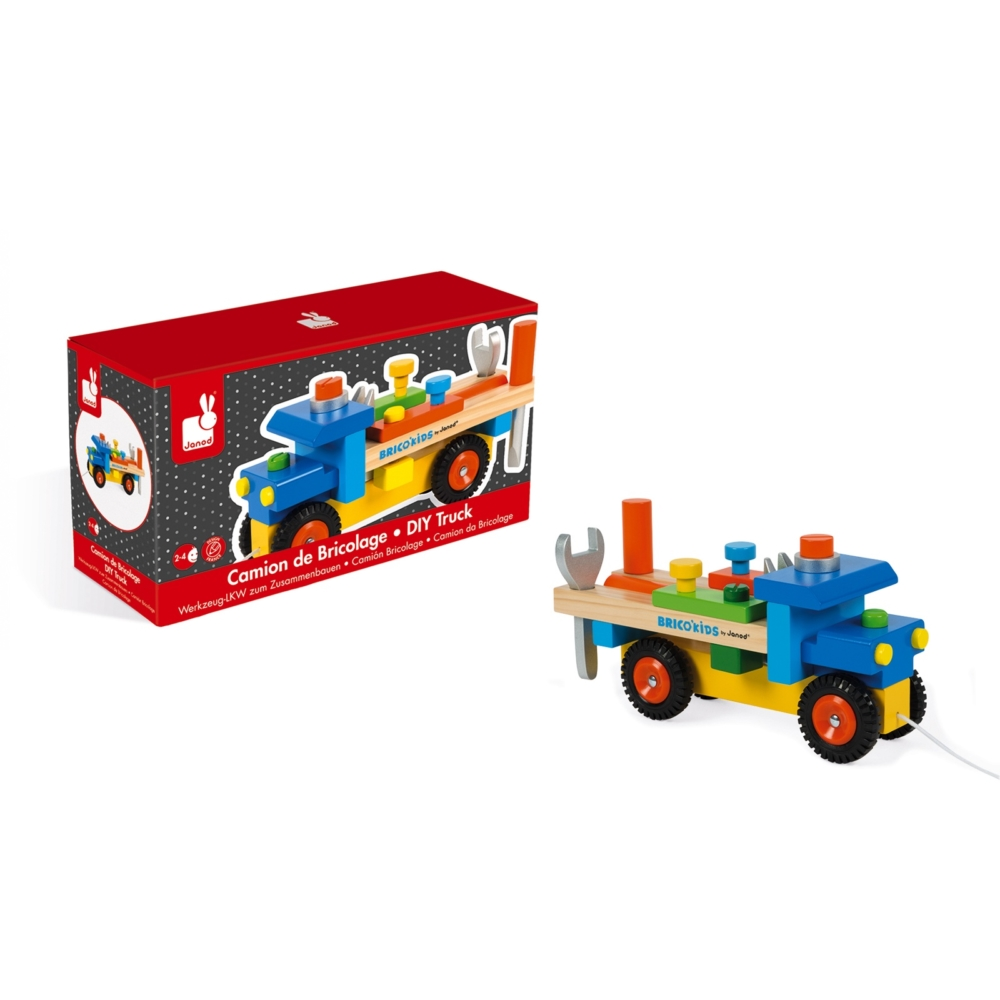 Janod Brico'Kids DIY Truck - New Factory Sealed