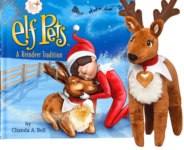 Elf on the Shelf Elf Pets: A Reindeer Tradition - New Factory Sealed