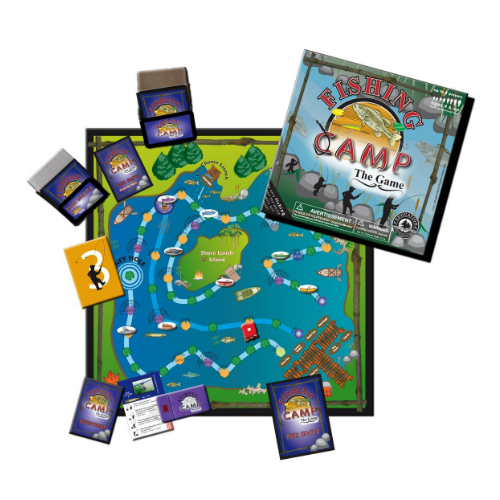 Fishing Camp Board Game - New Factory Sealed
