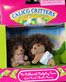 CALICO CRITTERS #CC1924 Pickleweeds Hedgehog Twins - New Factory Sealed