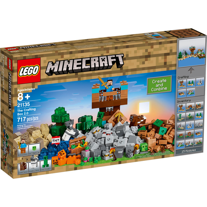 LEGO MINECRAFT #21135 The Crafting Box 2.0 - New Factory Sealed