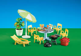 Playmobil Add On #6451 Patio Furniture! New Factory Sealed!