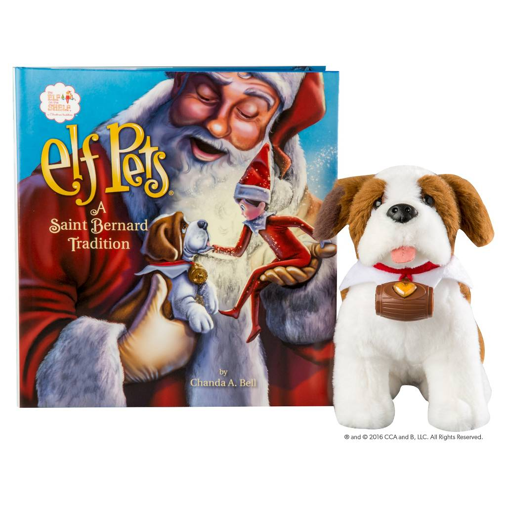 Elf on the Shelf Elf Pets : A Saint Bernard Tradition - New Factory Sealed