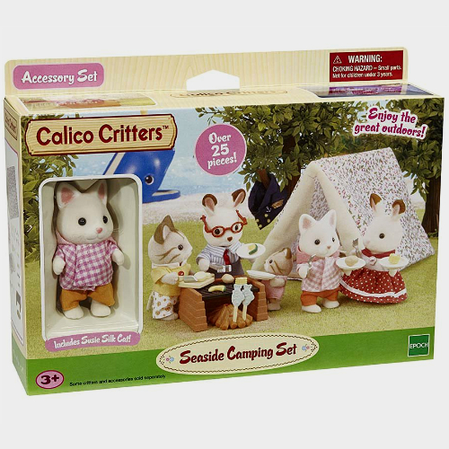 CALICO CRITTERS #CC1425 Seaside Camping Trip - New Factory Sealed