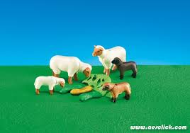 Playmobil Add On #6416 Sheep with Babies! New Factory Sealed!