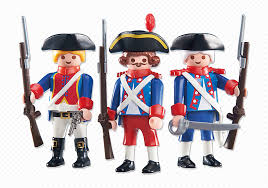 Playmobil Add On #6436 Three French Soldiers! New Factory Sealed!