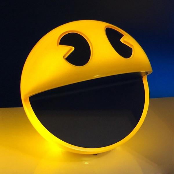 PAC-MAN Lamp with Remote Controlled Dimmer! Brand New in Box!