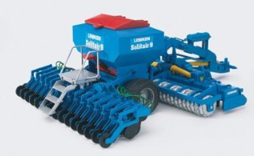 Bruder #02026 Lemken Solitair 9 Sowing Combination - New Factory Sealed #2026