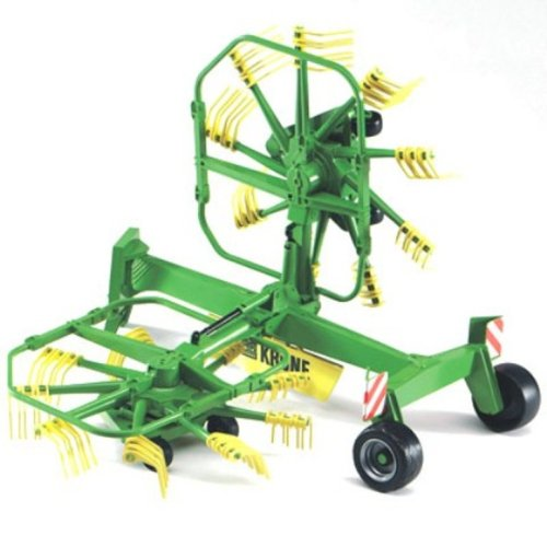 Bruder #02216 Krone Dual Rotary Swath Windrower - New Factory Sealed #2216