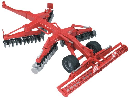 Bruder #02217 Kuhn Discover XL Disc Harrow - New Factory Sealed #2217