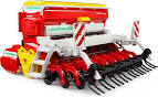 Bruder #02347 Poettinger Vitasem 302ADD Harrow Mounted Seed Drills - New Factory Sealed #2347