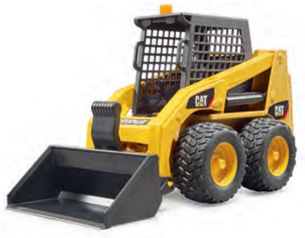 Bruder #02482 CATERPILLAR Skid Steer Loader - New Factory Sealed