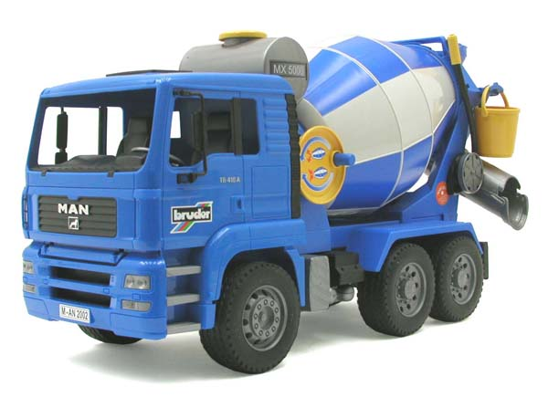 Bruder #02744 MAN TGA Cement Mixer! NEW! #2744