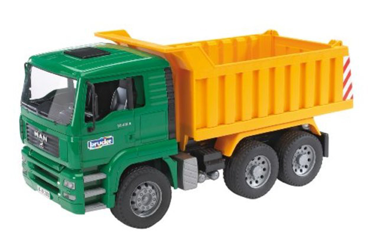Bruder #02765 MAN TGA Tip Up Dump Truck! NEW! #2765